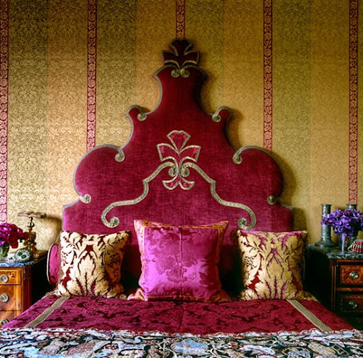 Arabic style bedroom 