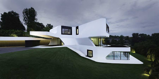contemporary house, Dupli casa, germanyhouse