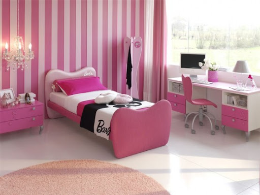 house bedroom interiors on pink color, an image of nice bedrooms