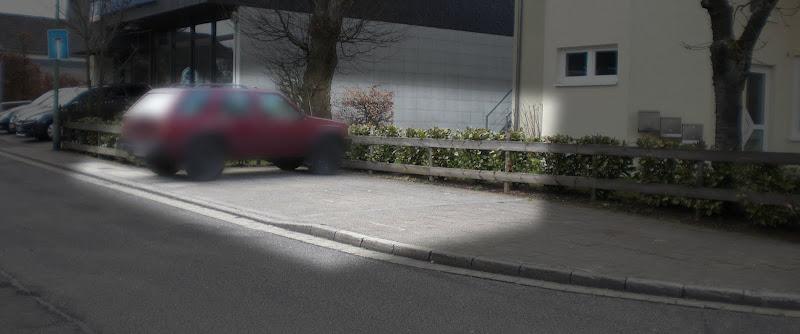 Parkplatz in Simmerath
