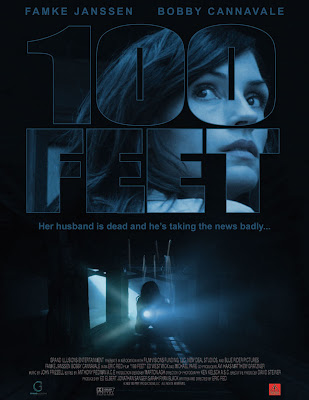 Famke Janssen in 100 Feet Poster DVD Cover