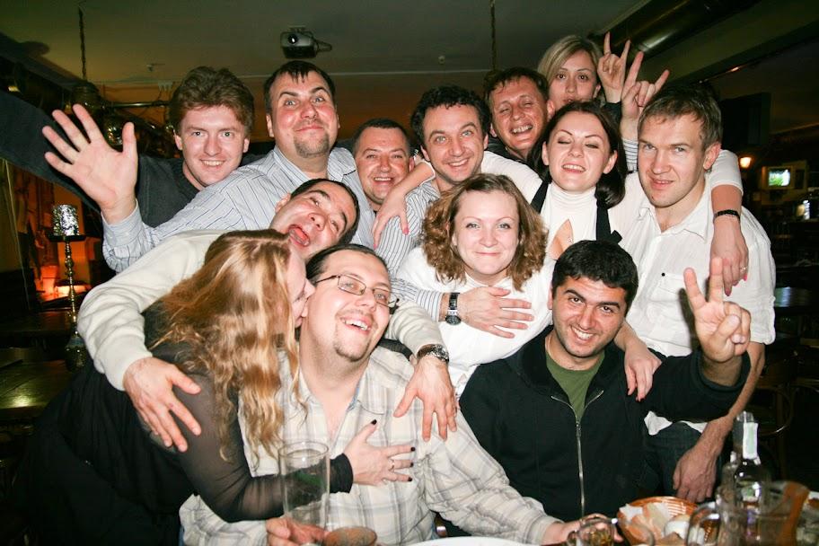 празднование ДР клуба в Киеве