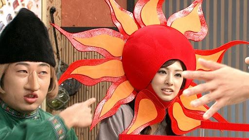堀北真希身后的巨大××与北川景子日式头套