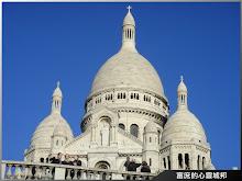 法國巴黎旅行必遊景點-蒙馬特聖心堂
