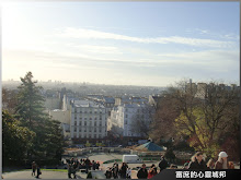 從蒙馬特聖心堂眺望整個大巴黎都會區