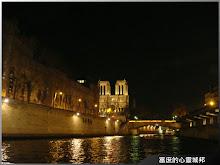 登船夜遊巴黎塞納河