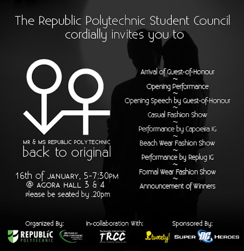 Republic Polytechnic Student Union Blog (RPSU): January 2009