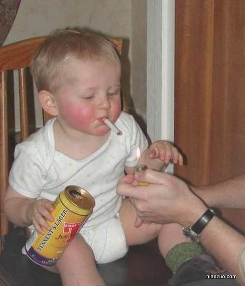 孩子捣蛋 抽烟,抽烟