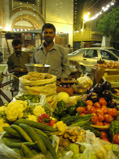 Vegetable Vendor in New Delhi