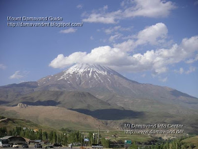 Mt Damavand View From Polour Village