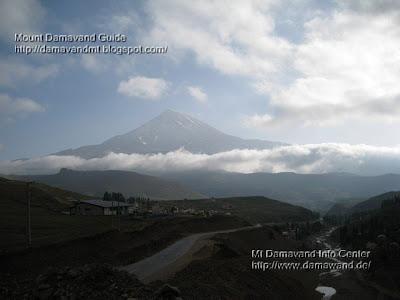 damavand early morning view from Polour Village, Photo by A. Soltani