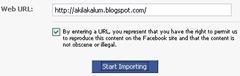 Blog URL