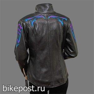 Стильная женская мото одежда Lycaon Custom Leathers
