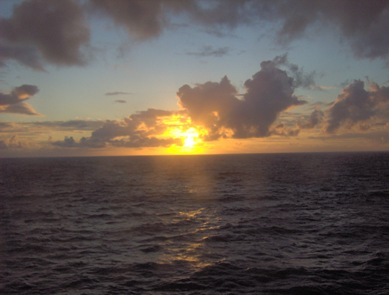 16 solnedgangen i nordsjøen