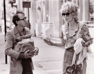 "Woody Allenpo e Mia Farrow em ""Broadway Danny Rose"" (1984)"