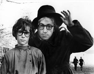 """Woody Allen em """"A última noite de Boris Grushenko"""" (1974)"""