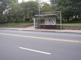 Ponto na Rua Colômbia com praça Adolfo Block (Av. Brasil)