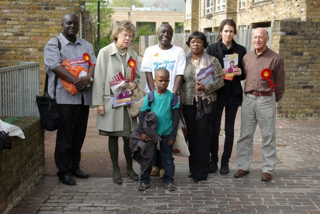 Vassall Ward Councillors and MP  Kate Hoey
