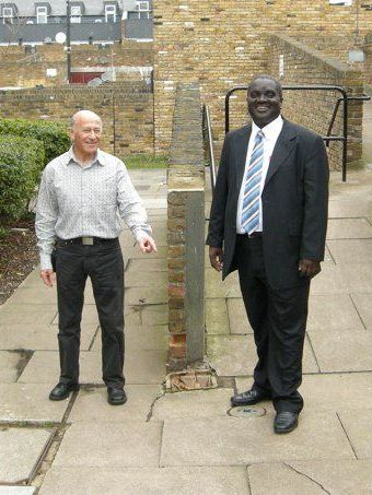 Vassall Ward Councillors Kingsley Abrams and Adrian Garden