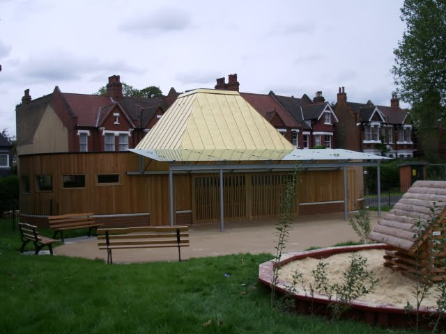 new childrens centre in Myatts Fields Park , Vassall Ward