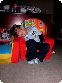 asleepelmochair