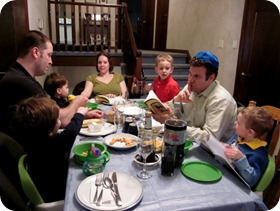 ourtablePesach11