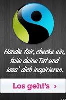 Screenshot of Fairtrade Check-In