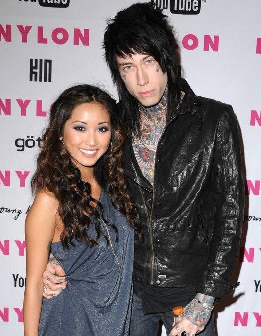 Brenda Song y Trace Cyrus