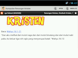 Screenshot of Kumpulan Renungan Kristen
