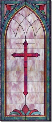 Stained glass_cross