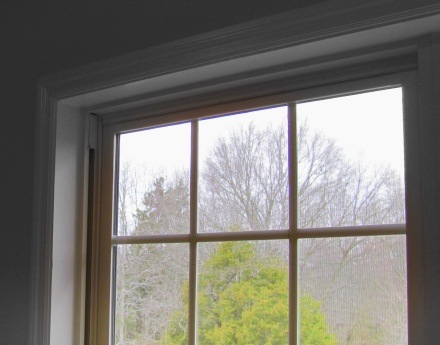 naked window