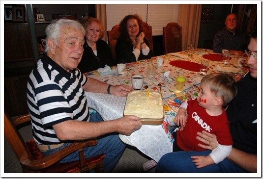 Toms 82nd birthday