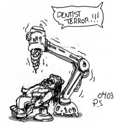dentist terror