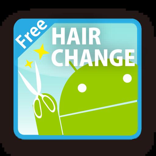 HAIR CHANGE FREE LOGO-APP點子