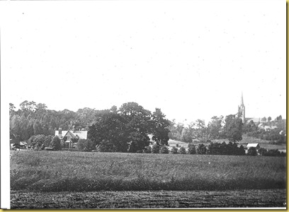 Vicarage   Clive Church.  Early 1900s.  (BB)