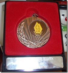 Medal Darcy 2009 Class 1A