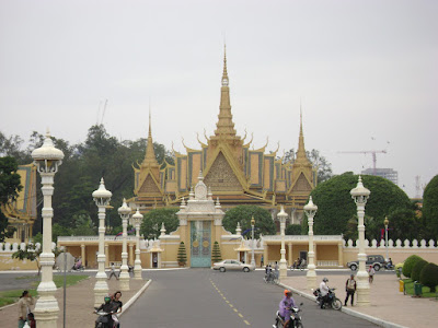 Front of Royal Palace
