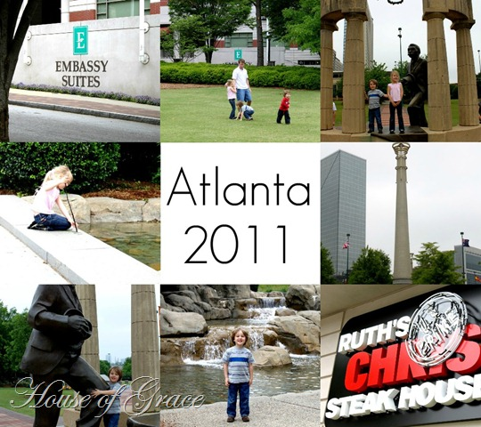 Atlanta collage
