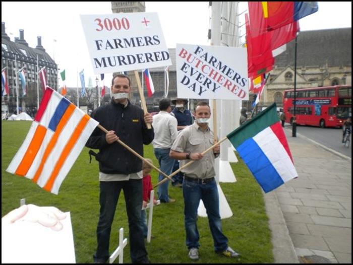 StopBoerGenocideJackHindonScoutsProtestMay82010LONDON