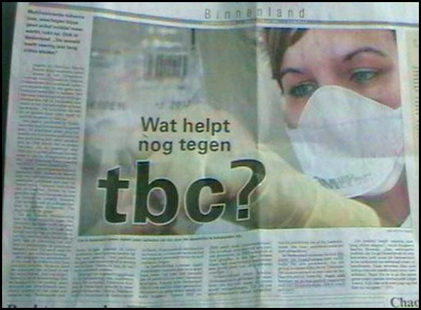 TB drug resistent Netherlands Feb62010 LeeuwarderCourant