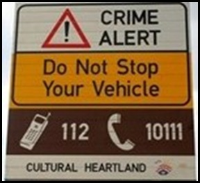 CrimeAlertToSouthAfricanMotorists