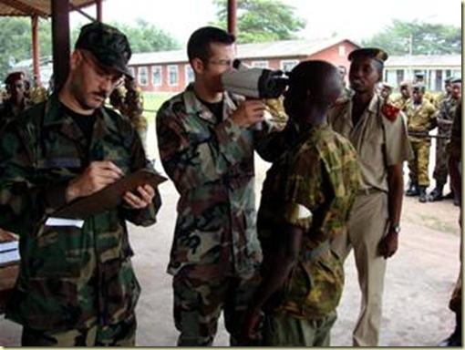 Burundi troops enroute to Somalia get US help