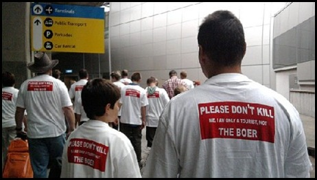 Tourist WC201 tshirt Dont Kill me I am a tourist not the Boer