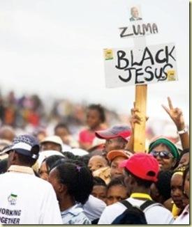 Zuma Black Jesus pic Alet Pretorius Beeld JaneFurseLimpopoMarch212009