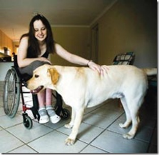 Botha Razelle disabled from SA crime with Whooky Beeld Alet Pretorius