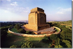Voortrekker Monument build in 1938 to commemorate Great Trek