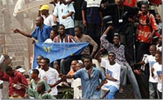 Congo Football Voodofear Riot