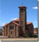 Typical sandstone church in East Free State dating from Boer republican era