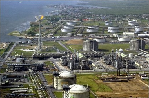 Niger Delta Bonny Islands oil terminals