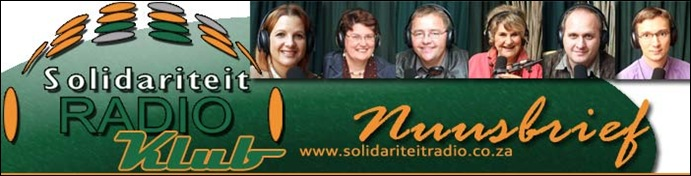 Solidariteitsradio Nuusbrief Logo